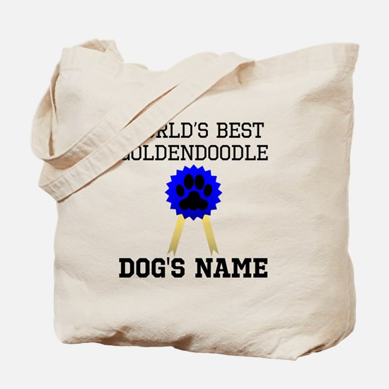 Worlds Best Goldendoodle (Custom) Tote Bag