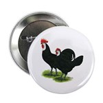 Spanish Cock and Hen Button