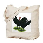Spanish Cock and Hen Tote Bag