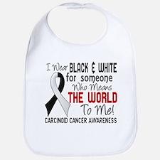 Carcinoid Cancer Means World 2 Bib