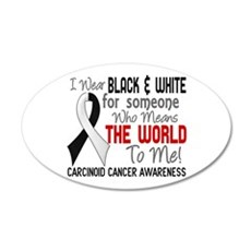 Carcinoid Cancer Means World Wall Decal