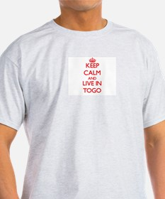 Keep Calm and live in Togo T-Shirt