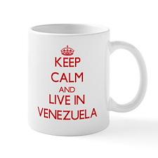 Keep Calm and live in Venezuela Mugs