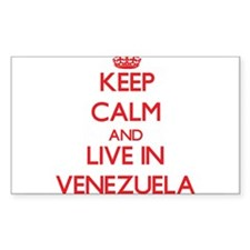 Keep Calm and live in Venezuela Decal