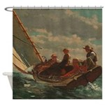 Wilmslow Homer Cannon Rock Shower Curtain