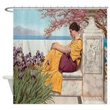 Pre raphaelite Shower Curtains