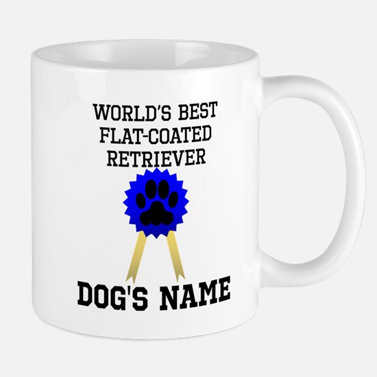 Worlds Best Flat-Coated Retriever (Custom) Mugs