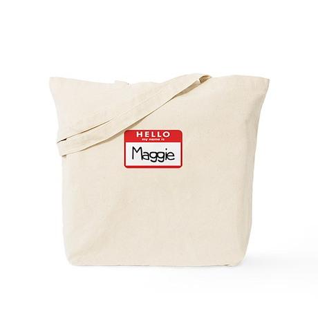 Hello Maggie Tote Bag