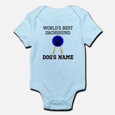 Worlds Best Dachshund (Custom) Body Suit