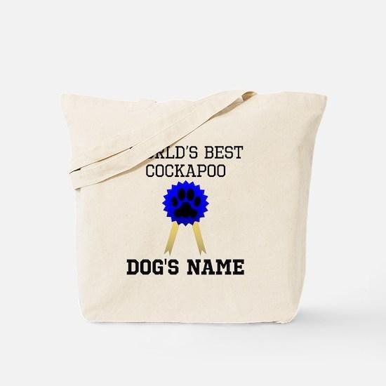 Worlds Best Cockapoo (Custom) Tote Bag