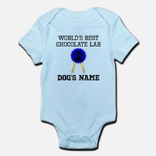 Worlds Best Chocolate Lab (Custom) Body Suit