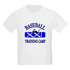 Baseball Training Camp T-Shirt