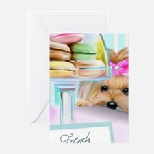 Macarons Signed Greeting Cards