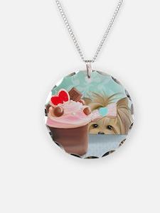 Forbidden Cupcake Necklace