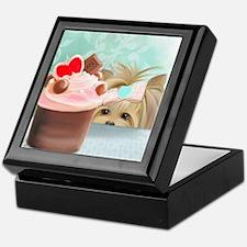 Forbidden Cupcake Keepsake Box