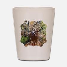Woodland Buck Deer Shot Glass