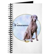 Weimaraner Portrait Journal