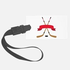Hockey Blank Banner Luggage Tag