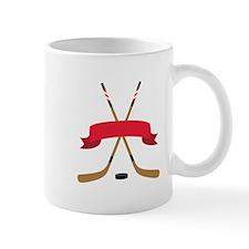 Hockey Blank Banner Mugs
