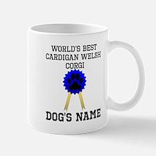 Worlds Best Cardigan Welsh Corgi (Custom) Mugs