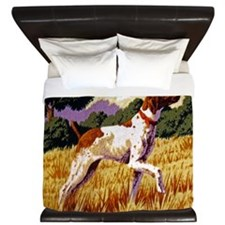 Hunting Dog King Duvet