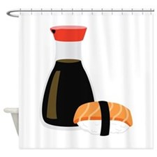 Soy Sushi Shower Curtain