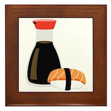Soy Sushi Framed Tile