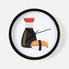 Soy Sushi Wall Clock