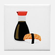 Soy Sushi Tile Coaster