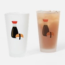 Soy Sushi Drinking Glass