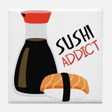 SUSHI ADDICT Tile Coaster