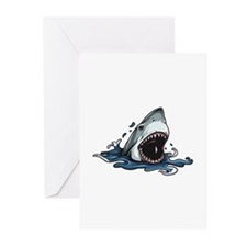 Shark Attack Greeting Cards (Pk of 10)