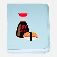 SOY SAUCE baby blanket