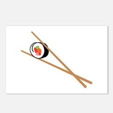 Sushi And Chopsticks Postcards (Package of 8)
