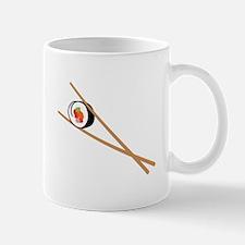 Sushi And Chopsticks Mugs