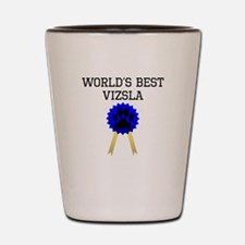 Worlds Best Vizsla Shot Glass