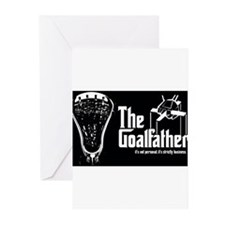 Lacrosse Goalfather Greeting Cards