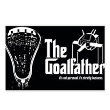 Lacrosse Goalfather Postcards (Package of 8)