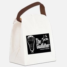 Lacrosse Goalfather Canvas Lunch Bag