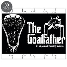 Lacrosse Goalfather Puzzle