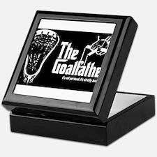Lacrosse Goalfather Keepsake Box