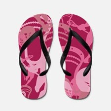 Lacrosse Camo Pink 20XX Flip Flops