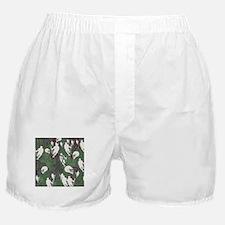 Lacrosse Camo Green 20XX Boxer Shorts