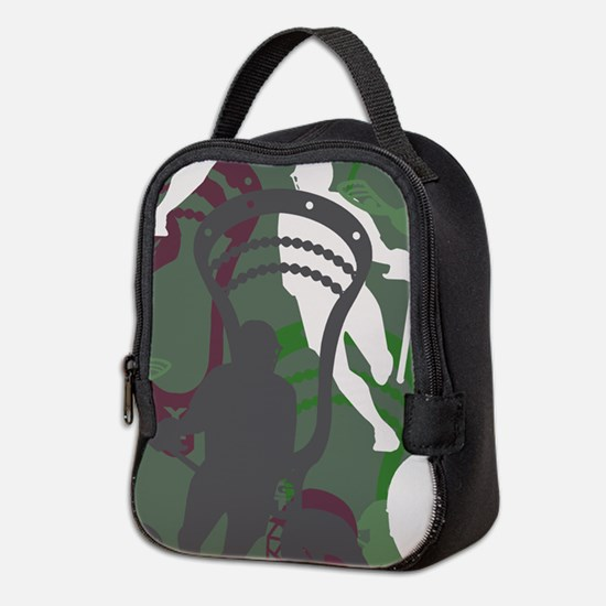 Lacrosse Camo Green 20XX Neoprene Lunch Bag