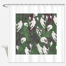 Lacrosse Camo Green 20XX Shower Curtain