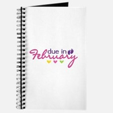 due in February Journal