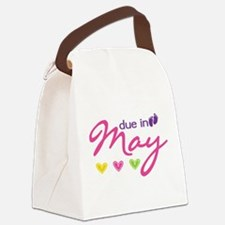 Due in May Canvas Lunch Bag