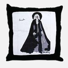 Sir Roderic as Lincoln Throw Pillow