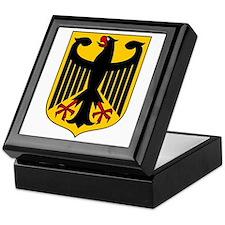 German Coat of Arms Keepsake Box