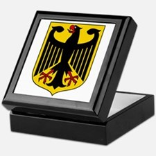 German Coat of Arms Keepsake Box